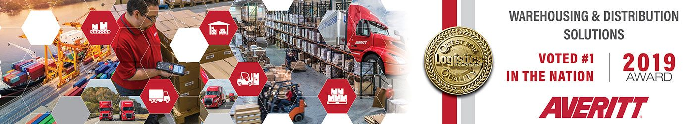 Averitt voted top warehousing and distribution solutions provider by shippers