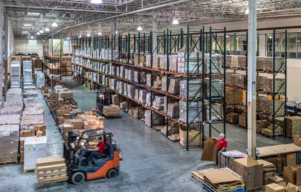Charlotte distribution center inside photo